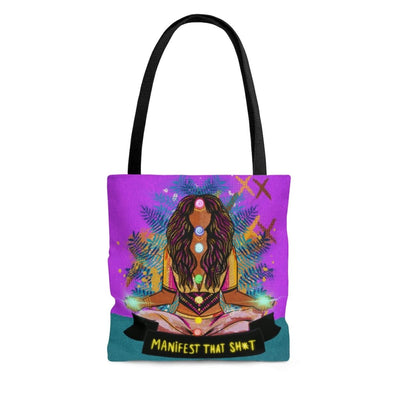 Manifest That Sh*t Tote Bag - Large - Bags