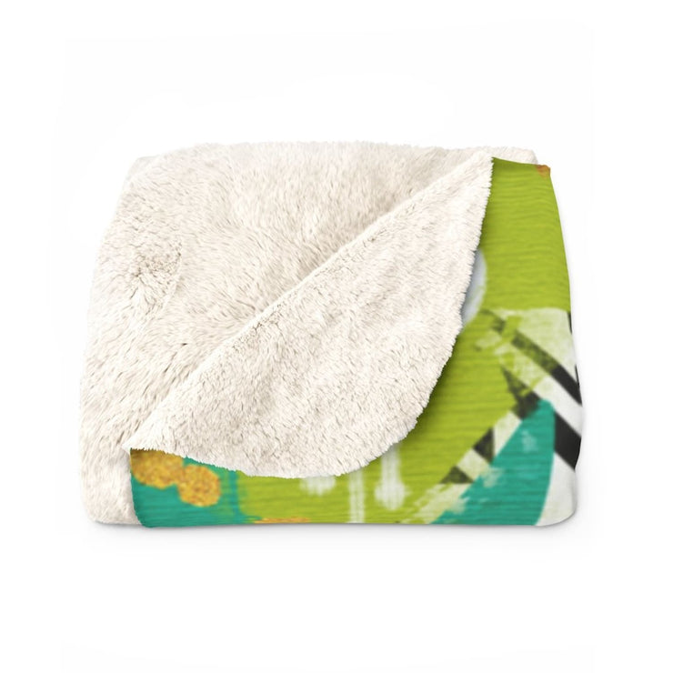 Miranda Sherpa Fleece Blanket - Home Decor