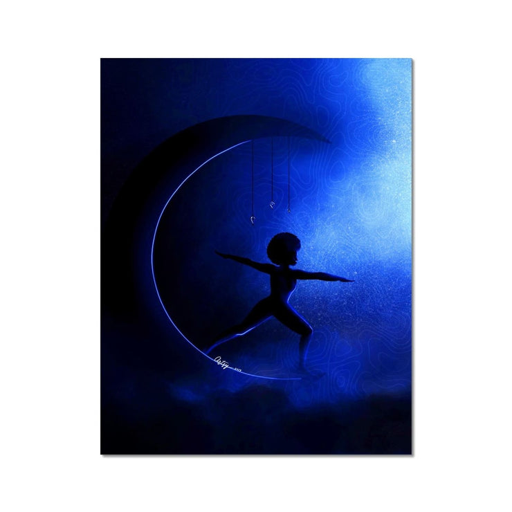 Moon Warrior Fine Art Print - 11x14 - Fine art