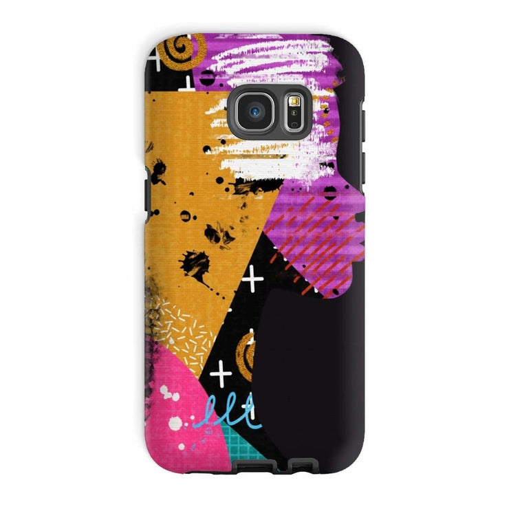 Opal Black Phone Case - Galaxy S7 Edge / Tough / Gloss - Phone & Tablet Cases