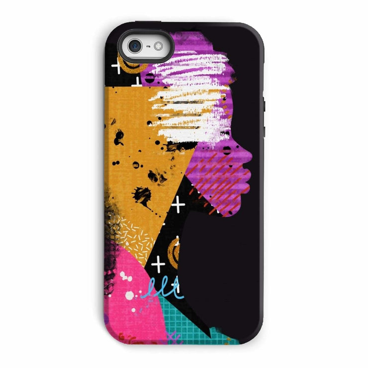 Opal Black Phone Case - iPhone 5/5s / Tough / Gloss - Phone & Tablet Cases