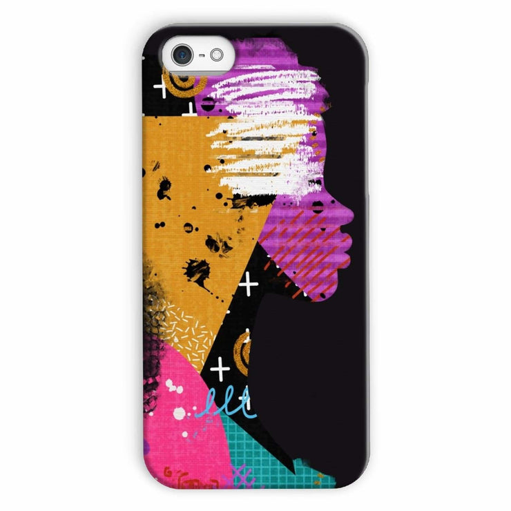 Opal Black Phone Case - iPhone 5c / Snap / Gloss - Phone & Tablet Cases