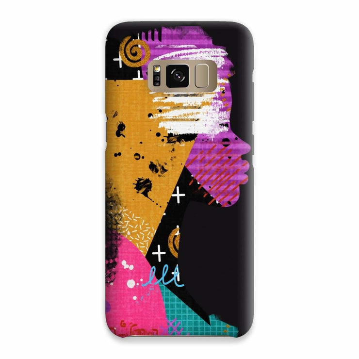Opal Black Phone Case - Samsung S8 / Snap / Gloss - Phone & Tablet Cases
