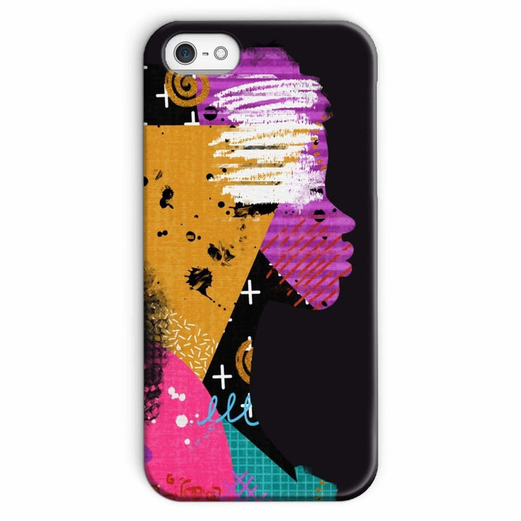 Opal Black Phone Case - iPhone 5/5s / Snap / Gloss - Phone & Tablet Cases