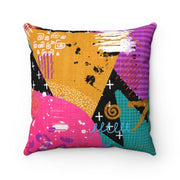 Opal Suede Square Pillow - Home Decor
