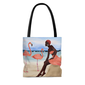 Peach Rays Tote Bag - Bags