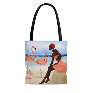 Peach Rays Tote Bag - Large - Bags