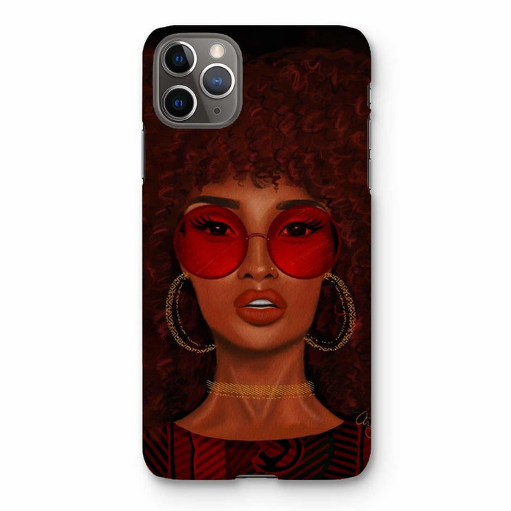 Ruby Phone Case - iPhone 11 Pro Max / Snap / Gloss - Phone & Tablet Cases