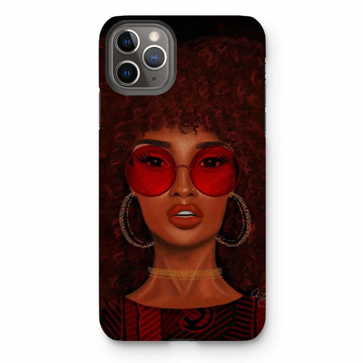 Ruby Phone Case - iPhone 11 Pro Max / Tough / Gloss - Phone & Tablet Cases