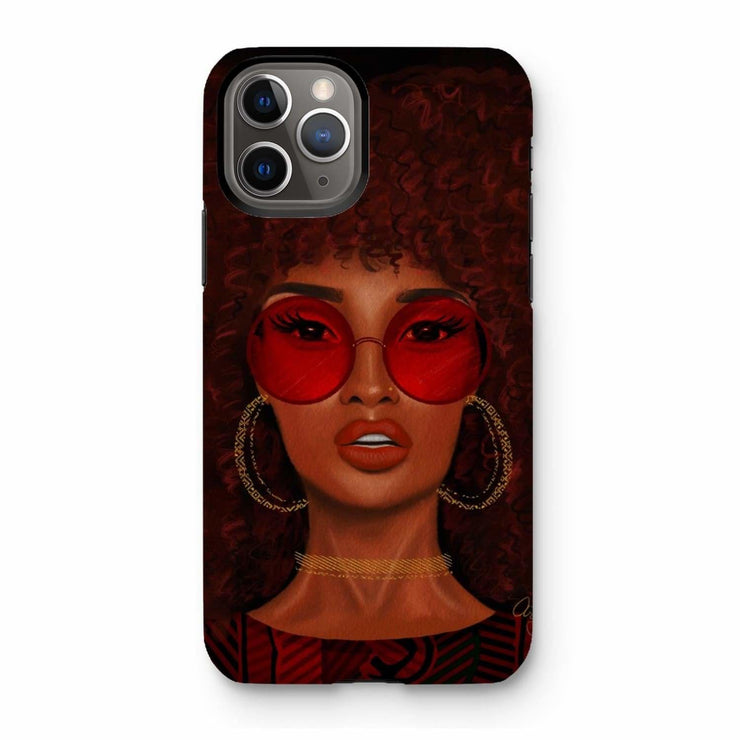 Ruby Phone Case - iPhone 11 Pro / Tough / Gloss - Phone & Tablet Cases