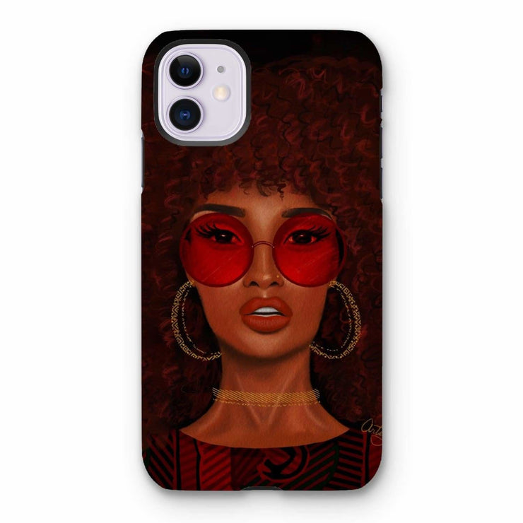 Ruby Phone Case - iPhone 11 / Tough / Gloss - Phone & Tablet Cases