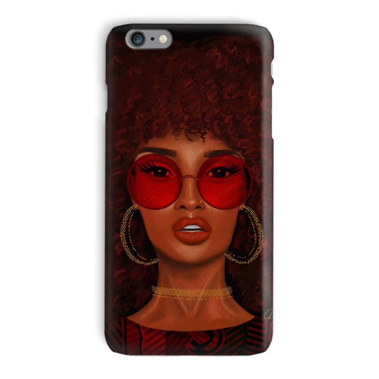 Ruby Phone Case - iPhone 6 Plus / Snap / Gloss - Phone & Tablet Cases