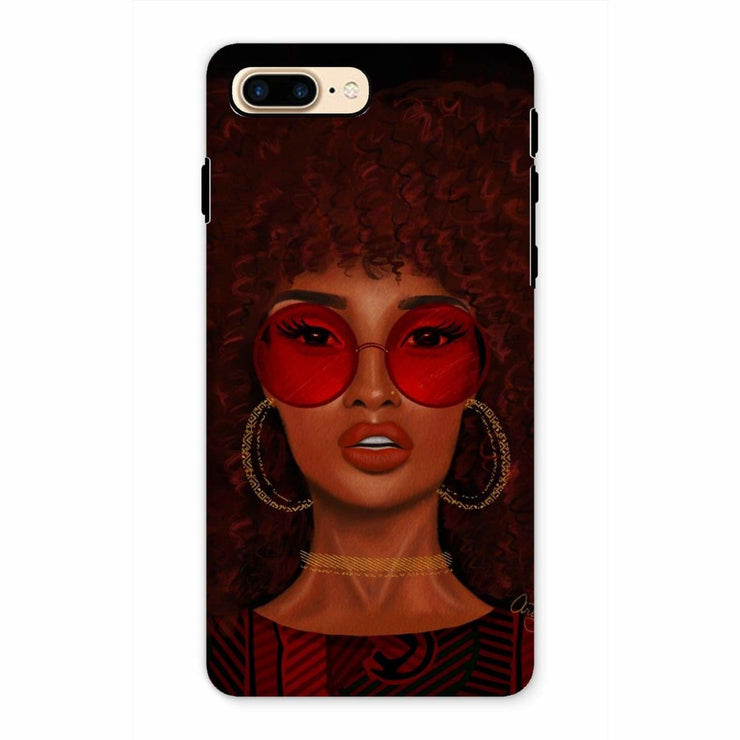 Ruby Phone Case - iPhone 7 Plus / Tough / Gloss - Phone & Tablet Cases