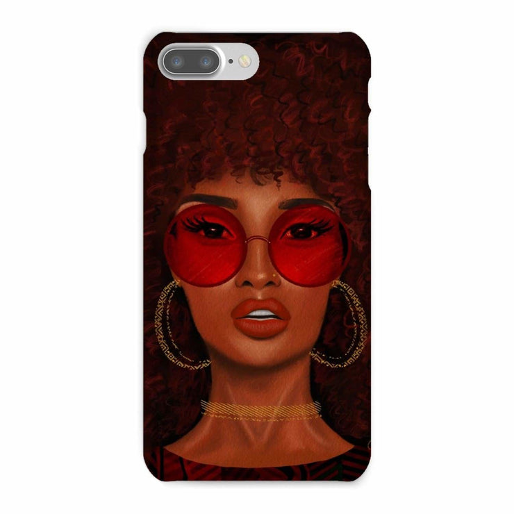 Ruby Phone Case - iPhone 8 Plus / Snap / Gloss - Phone & Tablet Cases