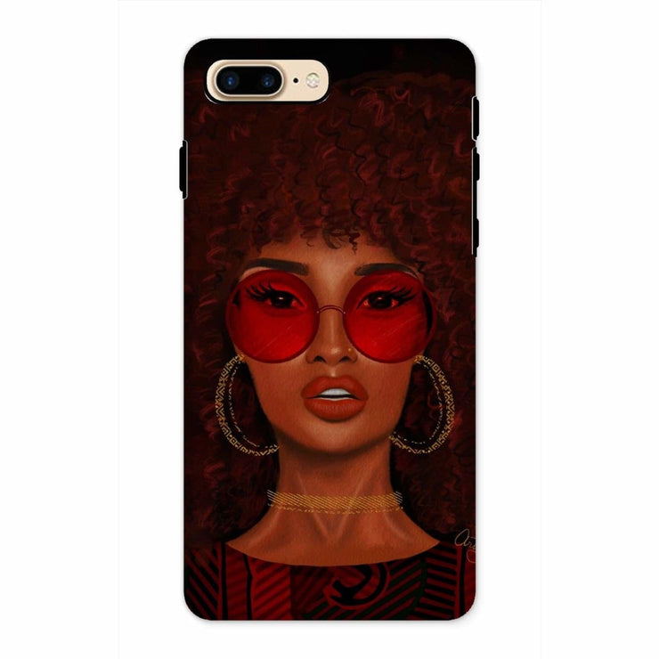 Ruby Phone Case - iPhone 8 Plus / Tough / Gloss - Phone & Tablet Cases