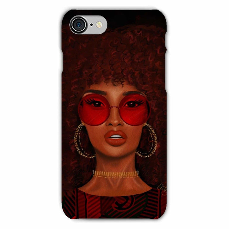 Ruby Phone Case - iPhone 8 / Snap / Gloss - Phone & Tablet Cases