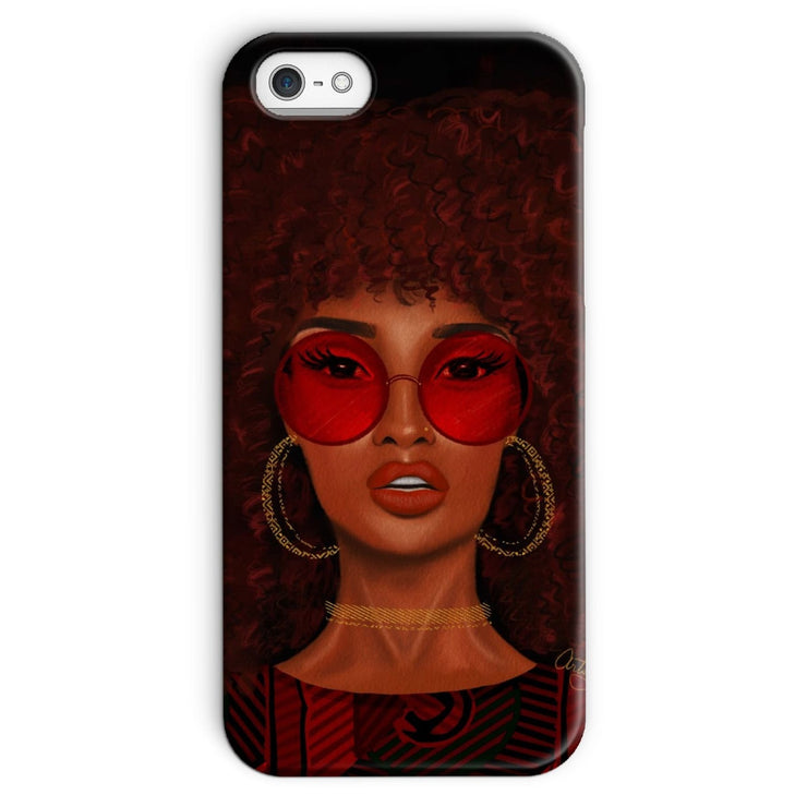 Ruby Phone Case - iPhone SE / Snap / Gloss - Phone & Tablet Cases