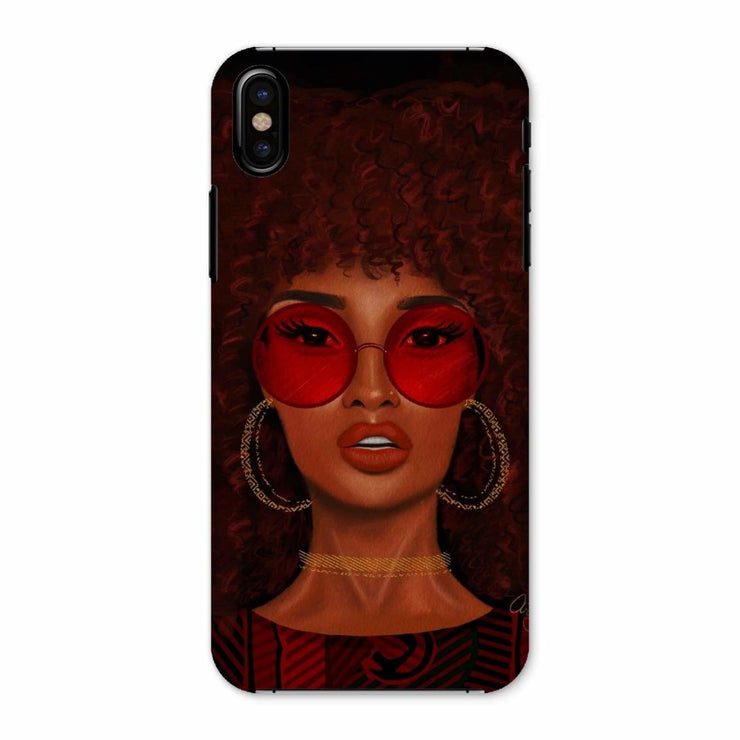 Ruby Phone Case - iPhone X / Snap / Gloss - Phone & Tablet Cases