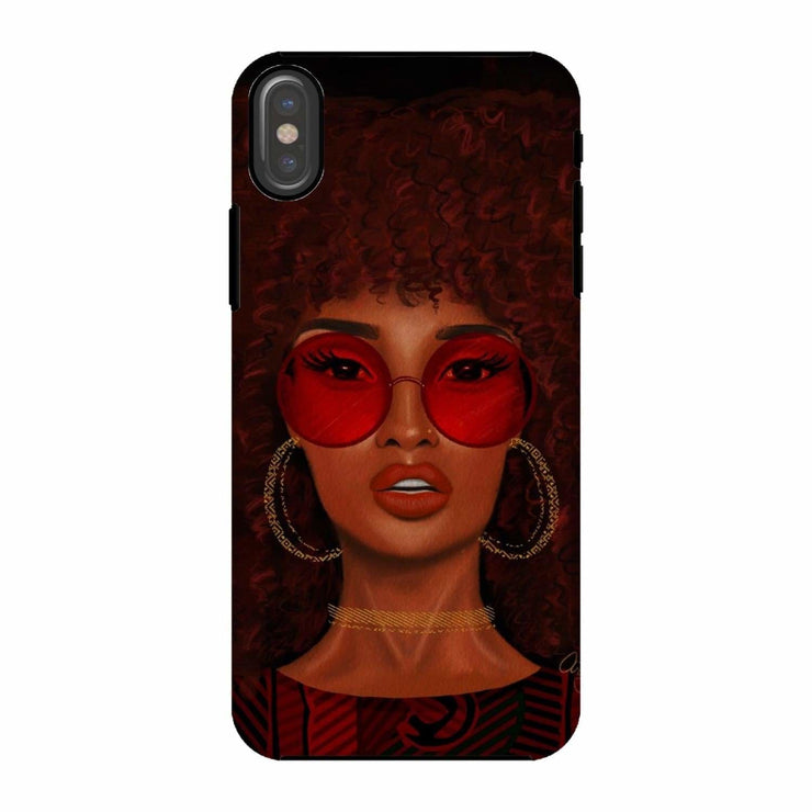 Ruby Phone Case - iPhone X / Tough / Gloss - Phone & Tablet Cases
