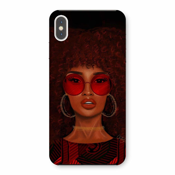 Ruby Phone Case - iPhone XS Max / Snap / Gloss - Phone & Tablet Cases