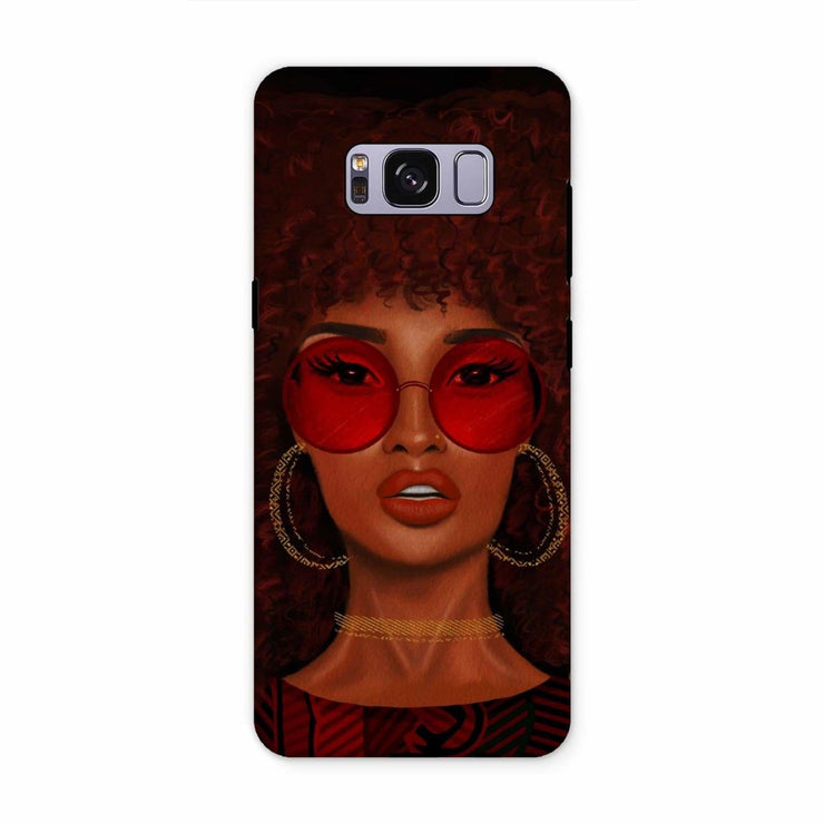 Ruby Phone Case - Samsung S8 Plus / Tough / Gloss - Phone & Tablet Cases