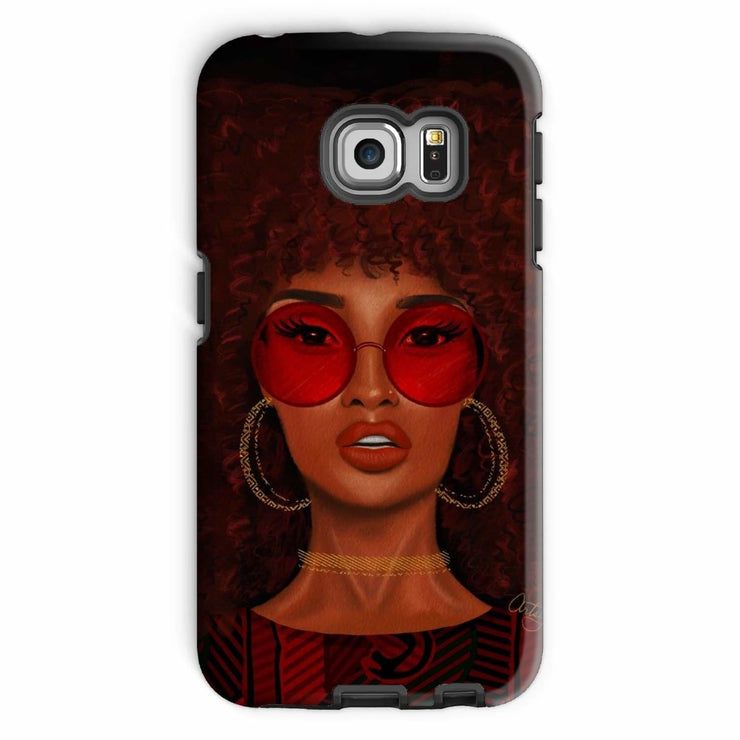 Ruby Phone Case - Galaxy S6 Edge / Tough / Gloss - Phone & Tablet Cases