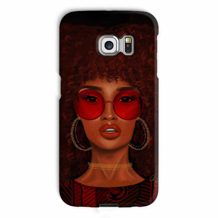 Ruby Phone Case - Galaxy S6 Edge / Snap / Gloss - Phone & Tablet Cases