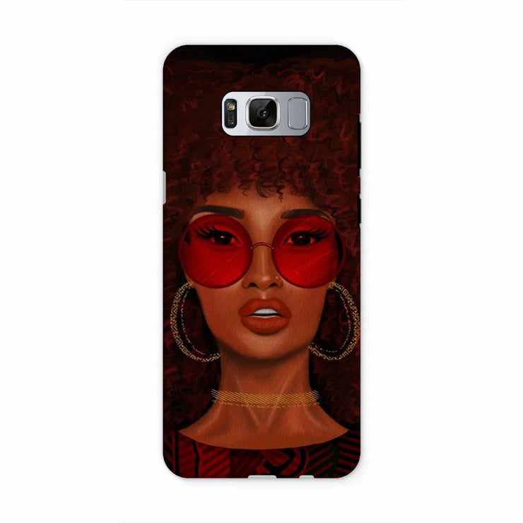 Ruby Phone Case - Samsung S8 / Tough / Gloss - Phone & Tablet Cases