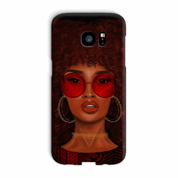 Ruby Phone Case - Galaxy S7 Edge / Snap / Gloss - Phone & Tablet Cases