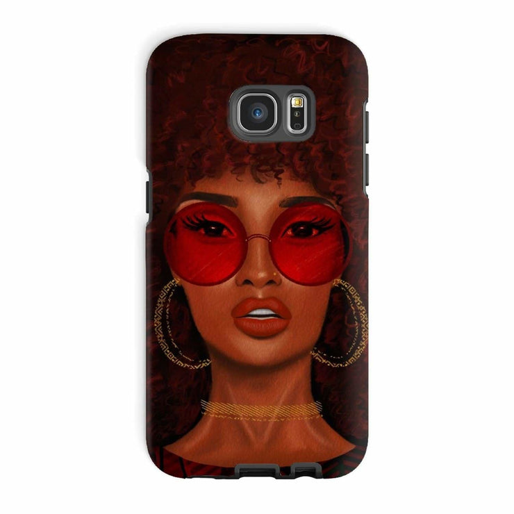 Ruby Phone Case - Galaxy S7 Edge / Tough / Gloss - Phone & Tablet Cases
