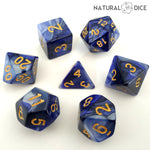 Blue Dragon Dice Set