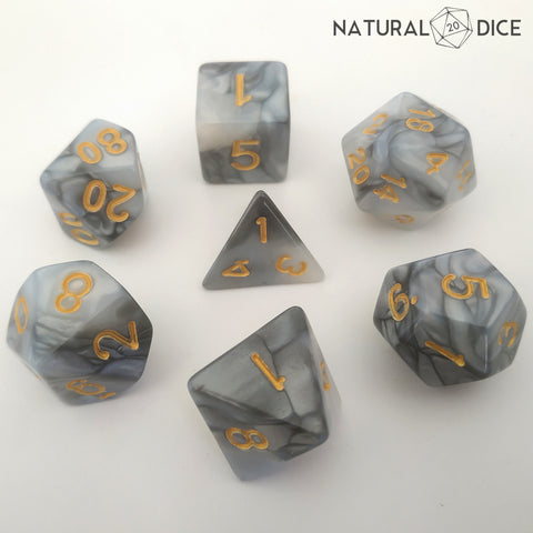Fate of the Aasimar Dice Set
