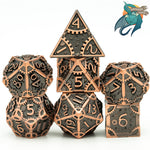Clockwork Workshop (Bronze) Metal Dice Set