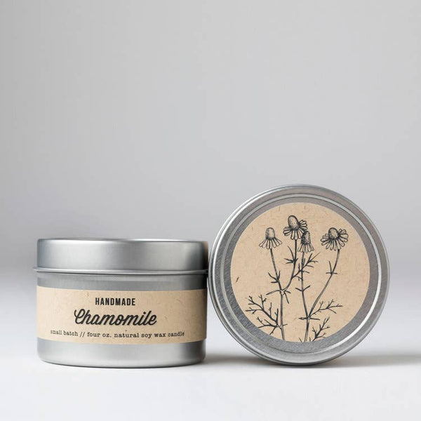 Chamomile : Travel Tin Candle