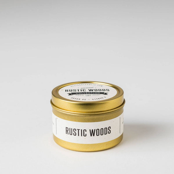 Rustic Woods : Travel Tin Candle