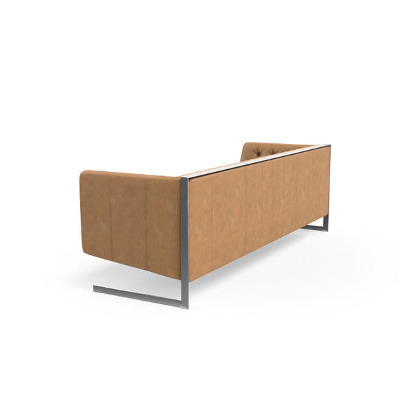 Viper Sofa - Stainless Steel - Cantina Peanut