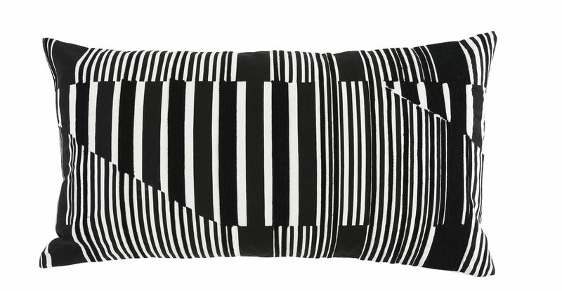 Vector Black Pillow