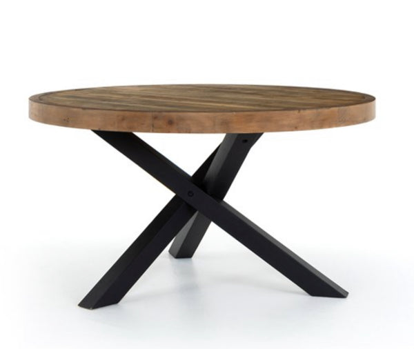Woodenforge Round Dining Table 55""