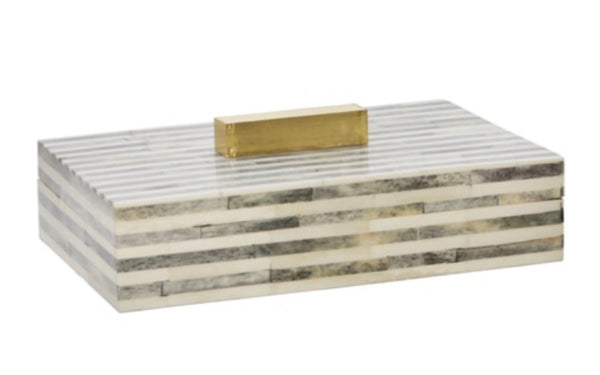 "BONE 9"" RECTANGULAR BOX"