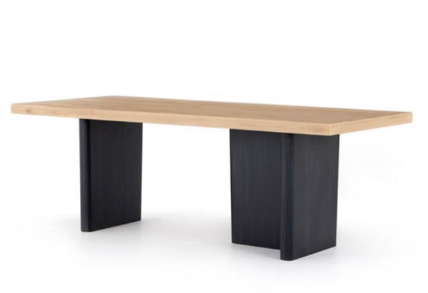 Ula Dining Table - Dry Wash Poplar