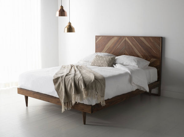 Cora Rose Herringbone Bed