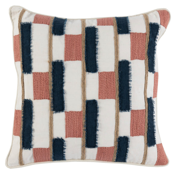 Almira Clay/Azul Blue Pillow