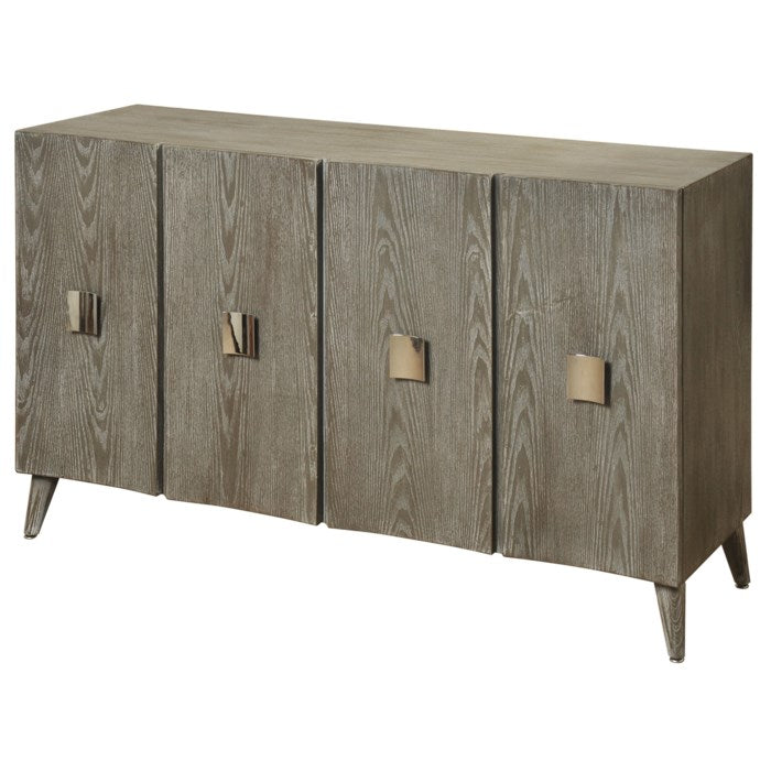 Curved Four Door Credenza