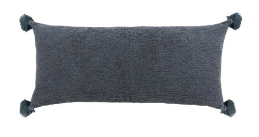 Carmela Saltwater Blue Pillow