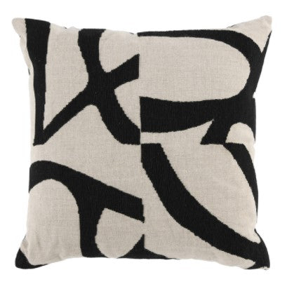 Bosa Black/Natural Pillow