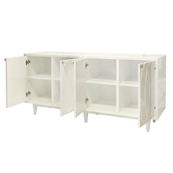 Mathis 4 Door Buffet - White