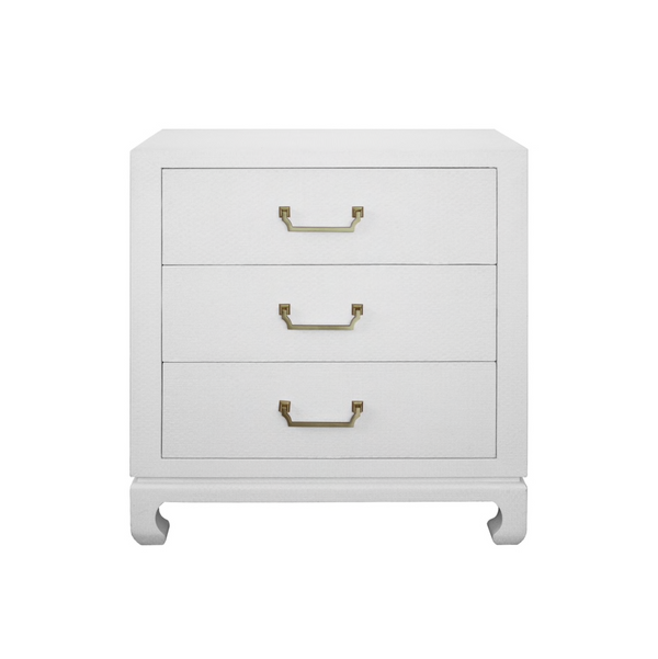 Camille Nightstand- White