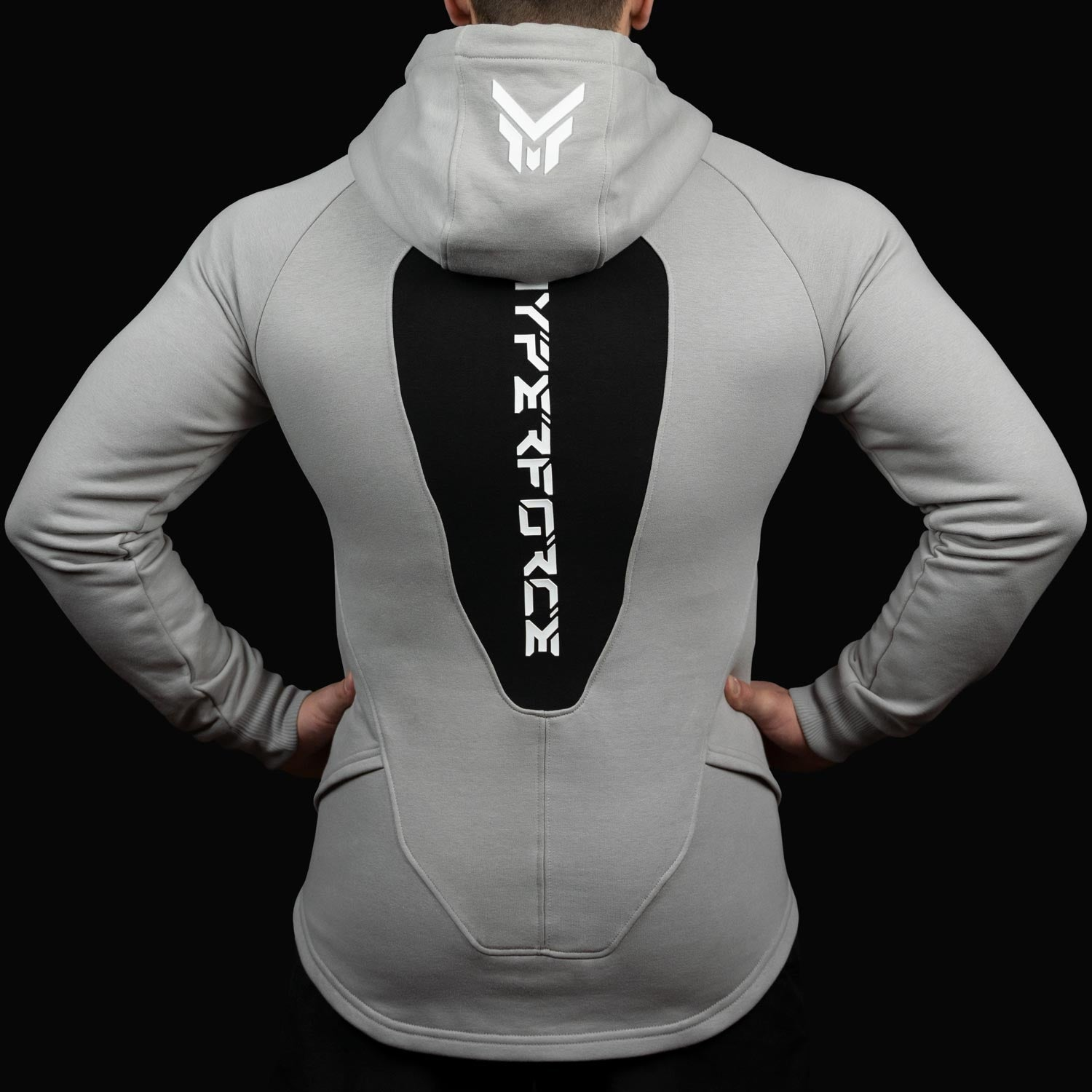 HYPERFORCE Apparel - Premium Muscle Fit Sweat Hoodie for Men - Tight Fit - Slim Fit - Tapered - aesthetic