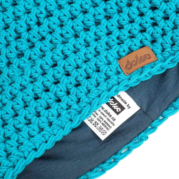 Merino Crocheted Beanie sky - richard-woox