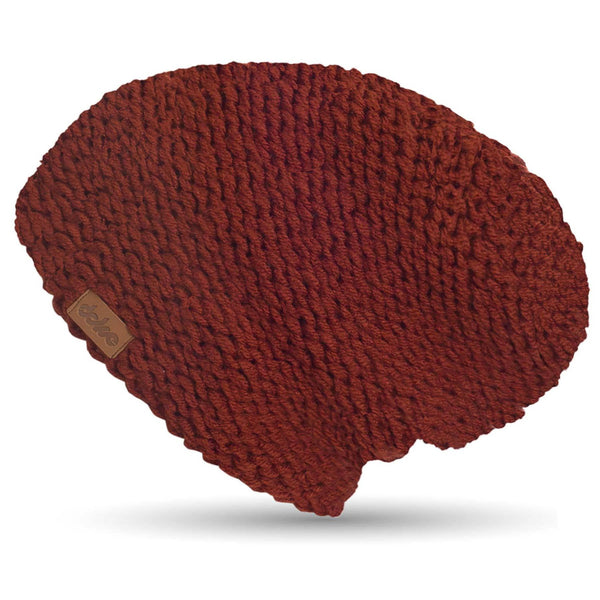 Knitted Beanie Marsala - richard-woox